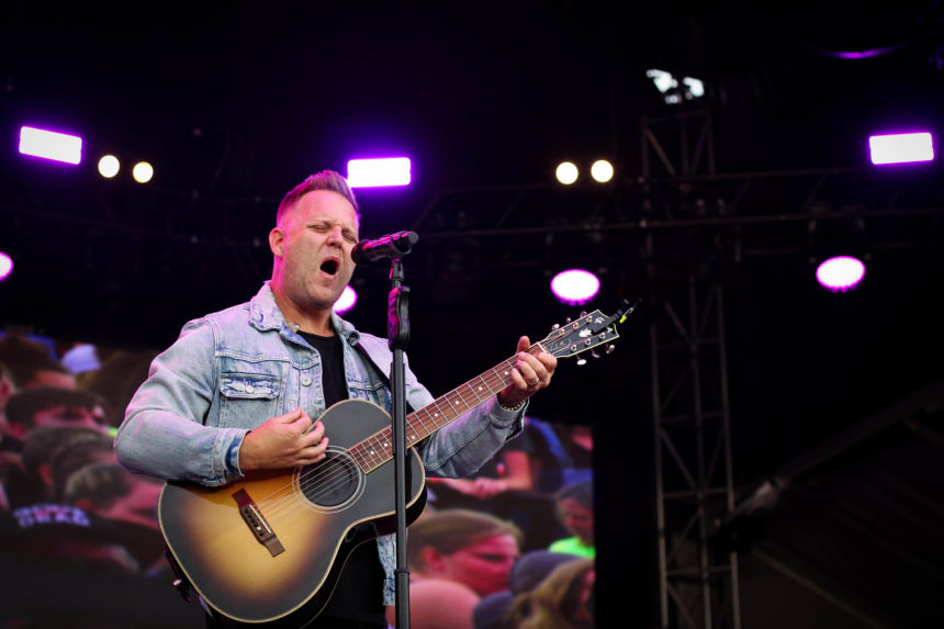 Matthew West singing